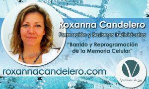 """Roxanna Candelero Formación y Sesiones-Individuales """"Barrido y Rreprogramación de la Memoria Celular"""""""