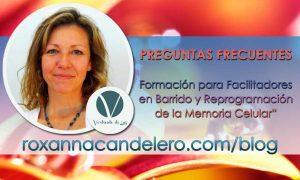 PREGUNTAS FRECUENTES sobre Formación para Facilitadores en Memoria Celular